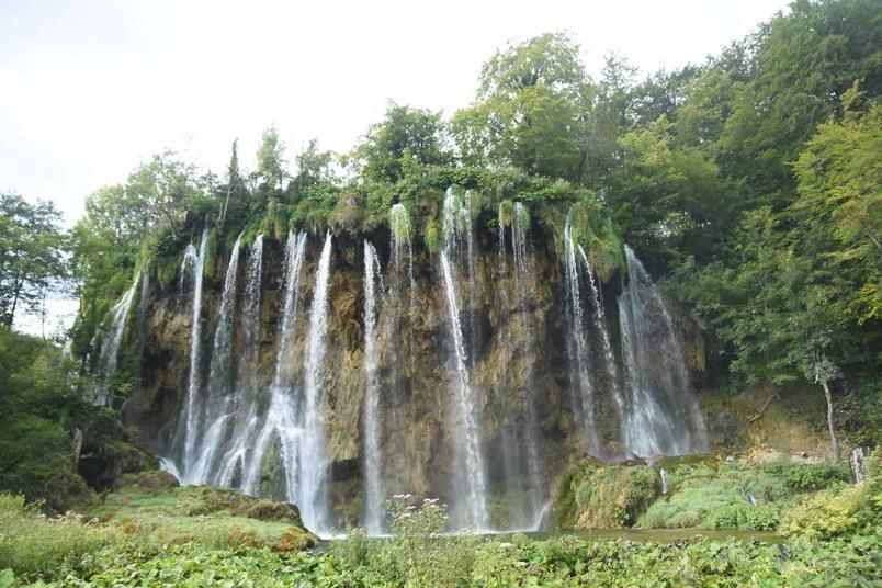 Cascade du parc de Plitvice, Croatie