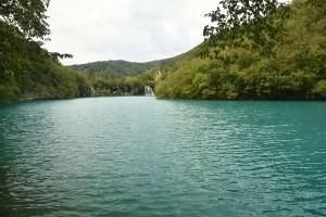 Lac turquoise du parc de Plitvice, Croatie