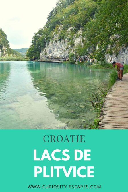 Visiter le parc national des lacs de Plitvice en Croatie