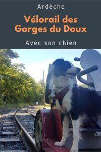 Visiter les gorges du Doux en Ardèche avec son chien