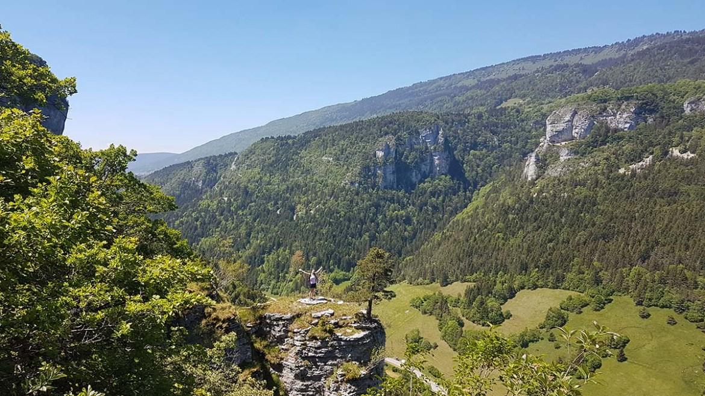 Promontoire rochaux, randonnée Engins