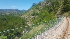 Vélorail de l'Ardèche dans les gorges du Doux