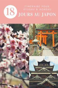 Itinéraire pour passer 18 jours au Japon au printemps à la floraison des cerisiers