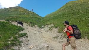Ascension du col du Coin, Savoie