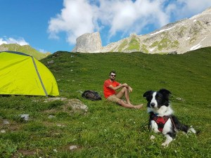 Bivouac sous la Piera Menta, Savoie