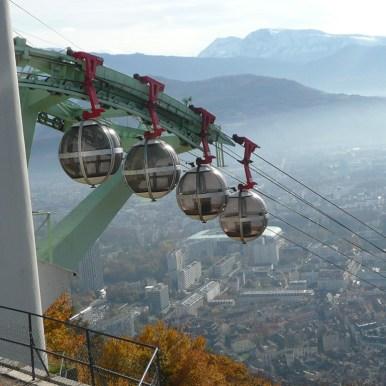 Bastille de Grenoble, Isère