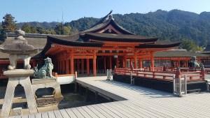 Sanctuaire d'Itsukushima sur Miyajima, Japon