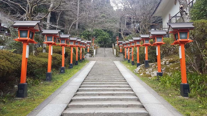 Kurama près de Kyoto Japon