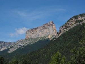 Le Mont Aiguille, sommet dans le Vercors