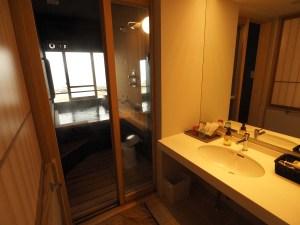 Onsen privé dans la chambre du ryokan