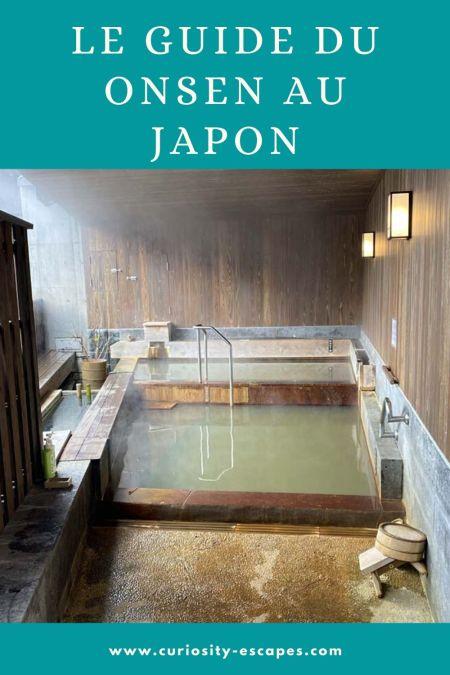 Le guide du onsen au Japon: bain public et bain thermal