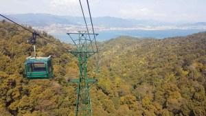 Téléphérique de l'île de Miyajima, Japon