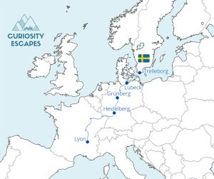 Roadtrip de France jusqu'en Suède