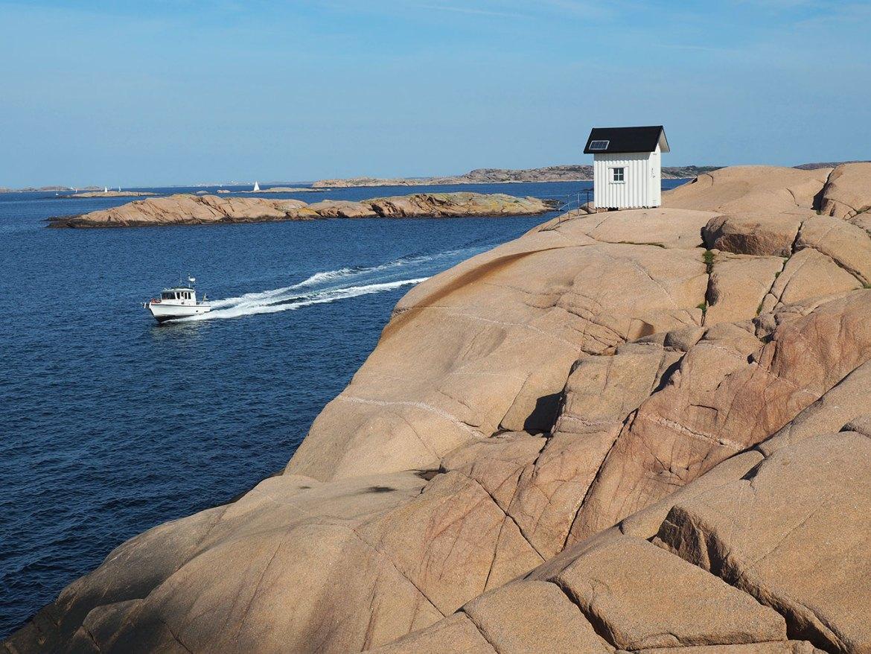 Réserve naturelle de Stångehuvud en Suède