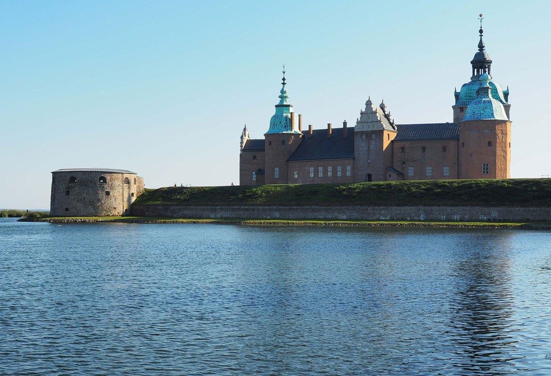 Château de Kalmar en bord de mer, Suède