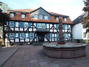 Cité médiévale de Grünberg en Allemagne