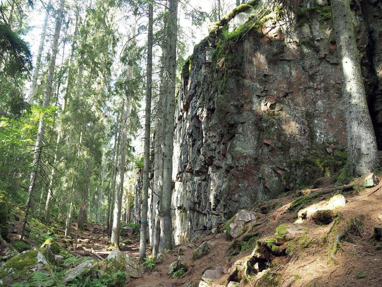 Canyon de Skurugata dans le sud de la Suède