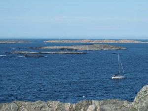 Îlots rochers de l'archipel d'Islandsberg Grundsund, Suède