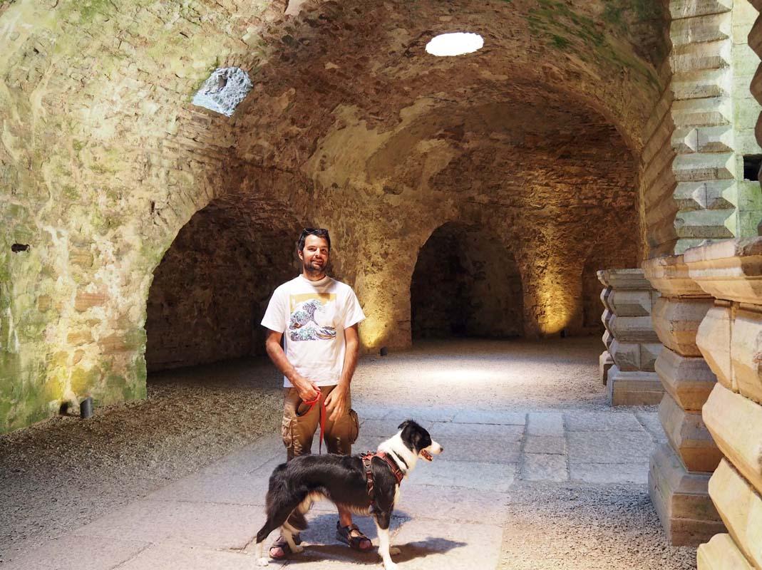 Visiter un château médiéval avec son chien en Suède
