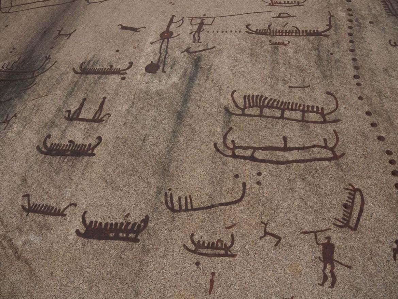 Peintures rupestres de Tanum en Suède
