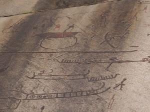 Peintures rupestres de Tanum en Suède, classées UNESCO
