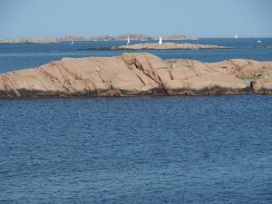 Archipel suédois depuis la réserve de Stångehuvud, Bohuslän