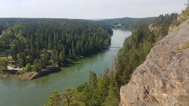 Randonnée autour de Trollhätan en Suède