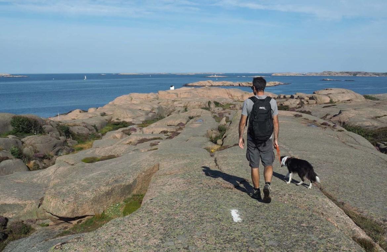 Balisage de la réserve de Stangehuvud en Suède
