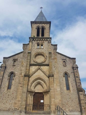 Eglise ed Saint Sylvestre en Ardèche
