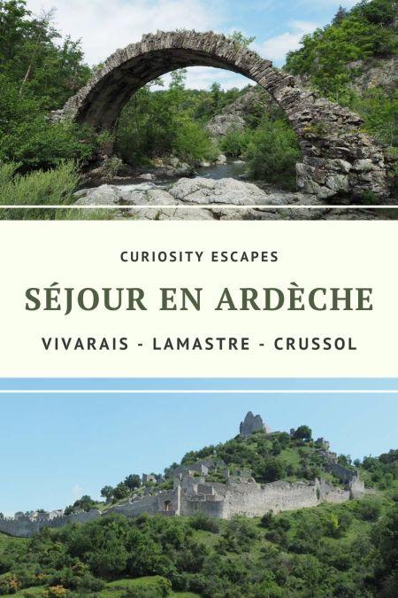 Visiter le nord de l'Ardèche: que voir, que faire ?
