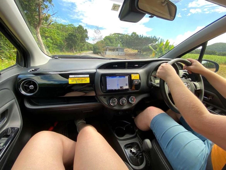 Louer une voiture sur l'île Ishigaki au Japon