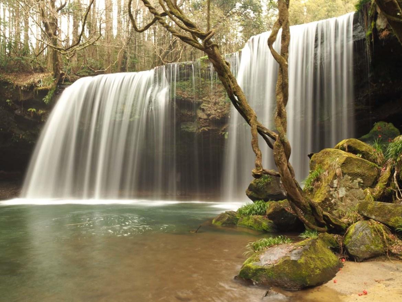 Cascade de Nabegataki, préfecture de Kumamoto au Japon