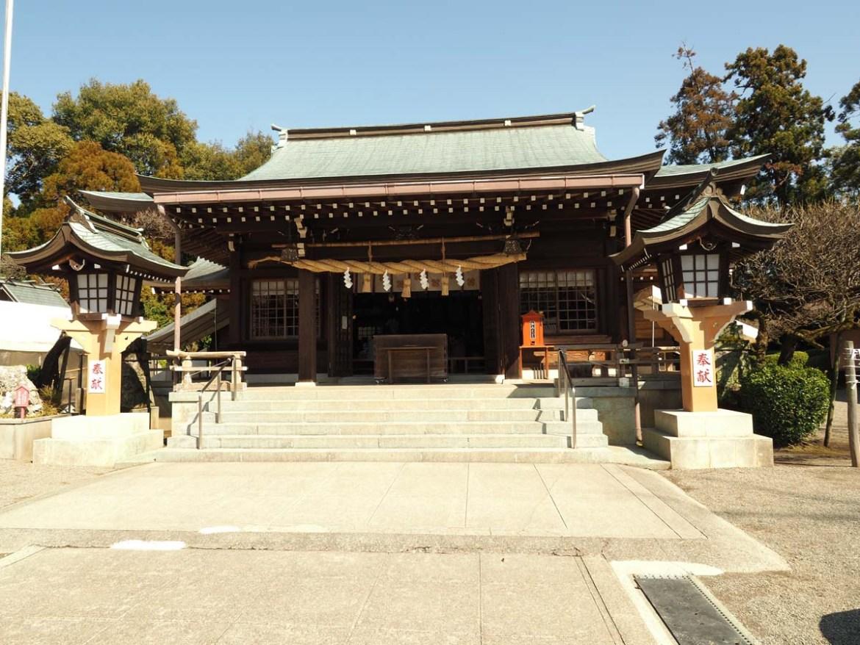 Sanctuaire shinto Kengun à Kumamoto