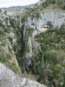 Canyon de Cavalon aux gorges d'Oppedette