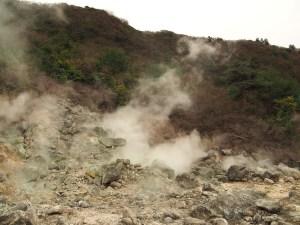 Fumerolles d'Unzen Jigoku