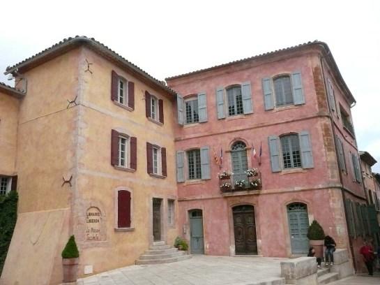 Village coloré de Roussillon