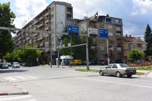 Rue de Bitola, à la frontière grecque