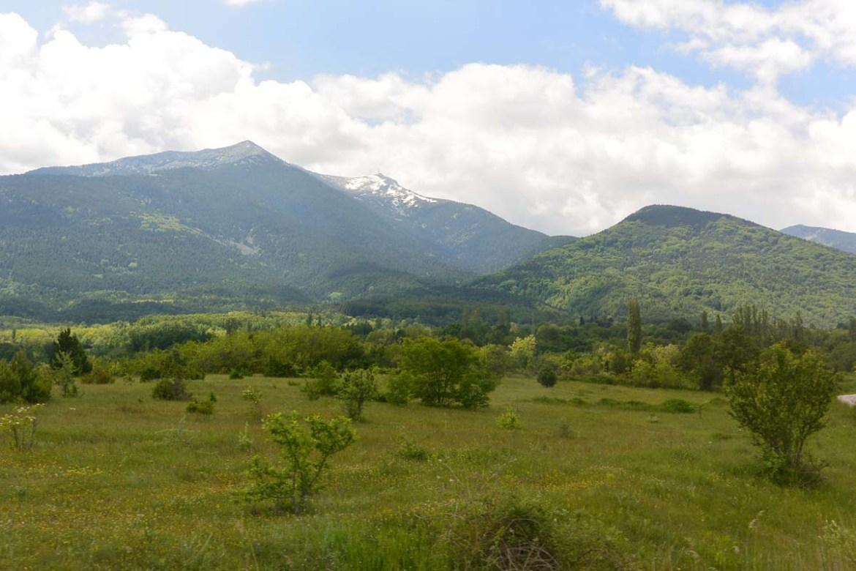 Montagnes en Macédoine