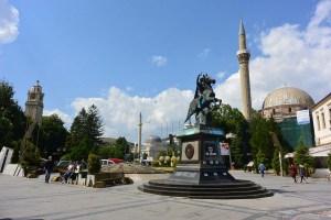 Ville de Bitola en Macédoine