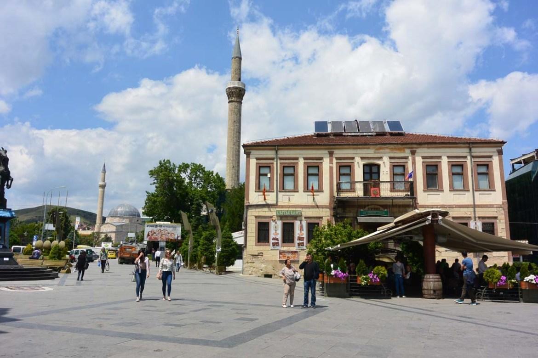 Centre ville de Bitola, Macédoine
