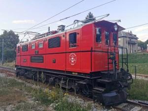 Locomotive du petit train de La Mure