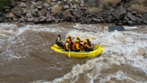 Colorado Springs rafting