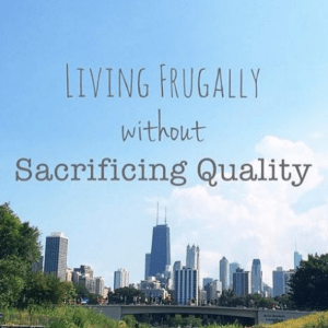 living frugally chicago