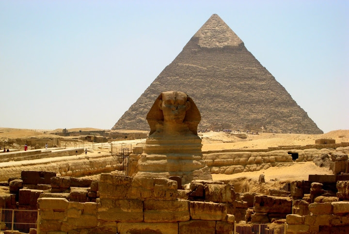 Sphinx egypt visit