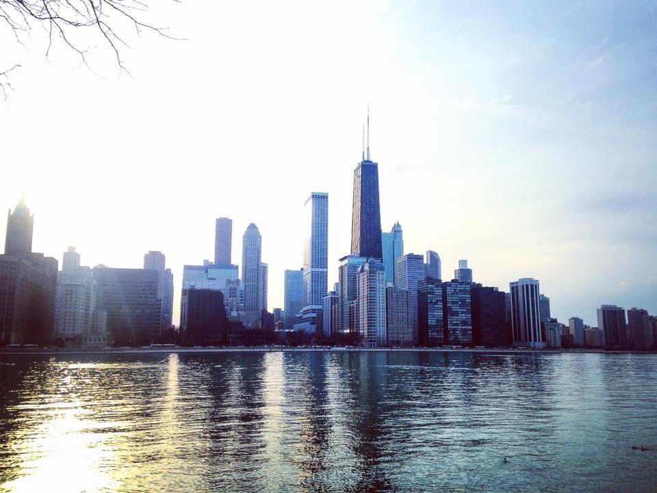 springtime in chicago