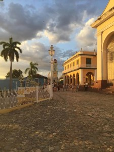 trinidad cuba sunset