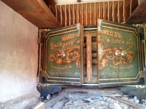old bank safe bodie ca