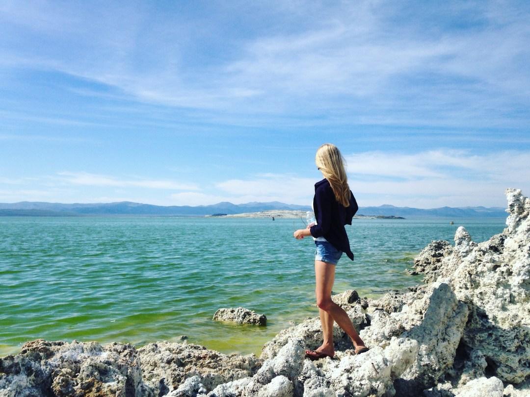 mono lake views - solo travel how to