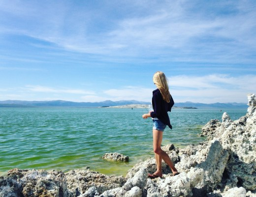 mono lake views - solo travel how to