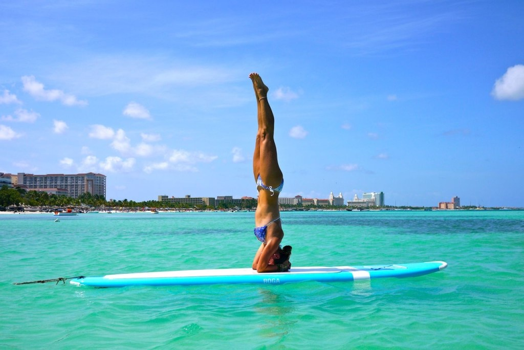 aruba resorts yoga